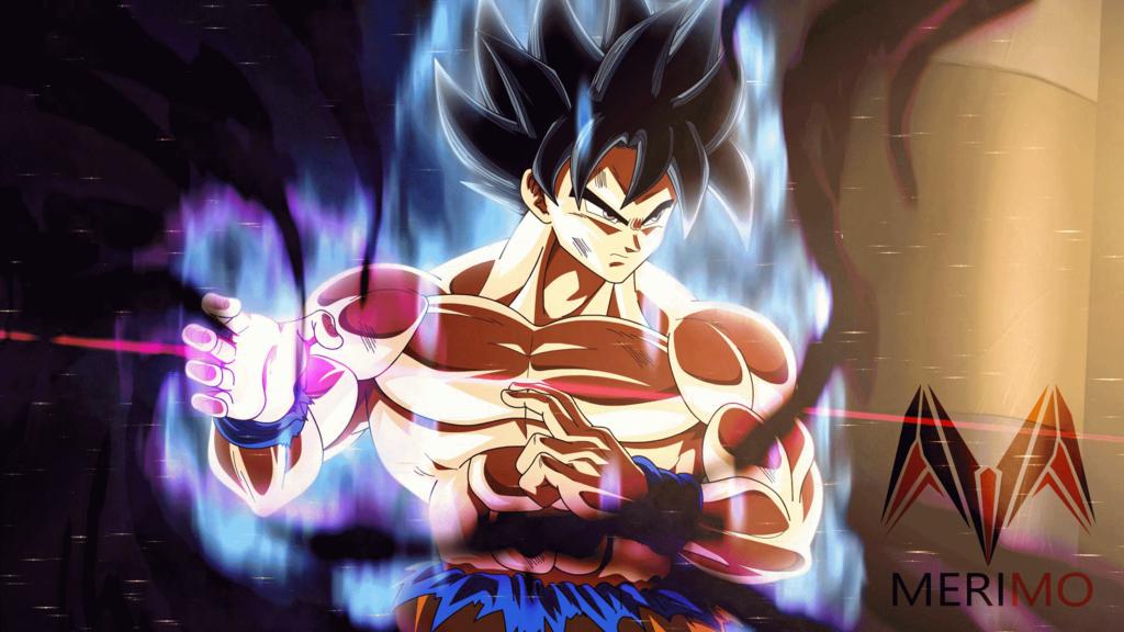 Goku New Form Hakai By Merimo Animation Goku New Form Goku Dragon Ball Art