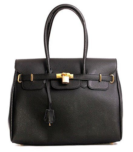 Designer Inspired Handbag In Beautiful Italian Leather With Gold Trims (Black) Glamorous Angels http://www.amazon.co.uk/dp/B00YHDVD8E/ref=cm_sw_r_pi_dp_owjXvb0NJRR66