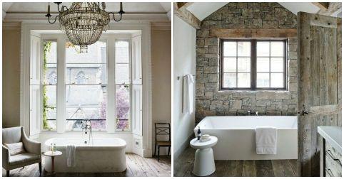 15 cuartos de baño en estilo provenzal | Decoraciones de ...