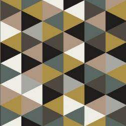 Tissu grands triangles mix coloris Fin de siècle par Aime comme Marie   {pour moi}
