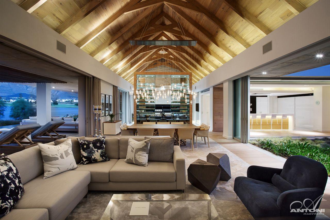 Moderne luxusvilla innen  Luxus Villa in Stellenbosch | Luxus villa, Haus architektur und ...