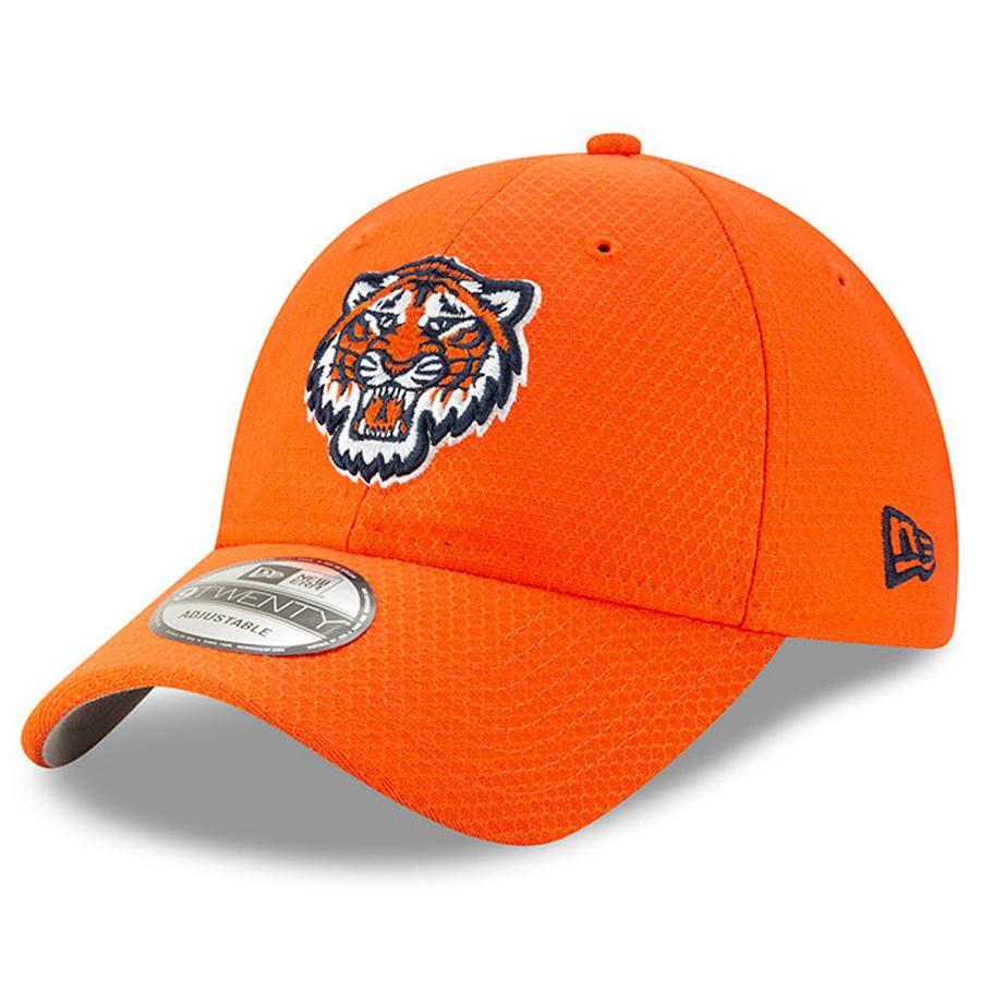 new arrival 383e6 a3a24 Men s Detroit Tigers New Era Orange 2019 Batting Practice 9TWENTY  Adjustable Hat, Your Price