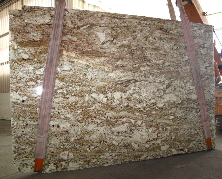 This Earthy Piece Is Called The African Tobacco Granite This Is A Natural Granite Counter Top Perfect For Kit Natural Granite Tuscany Kitchen Granite Slab