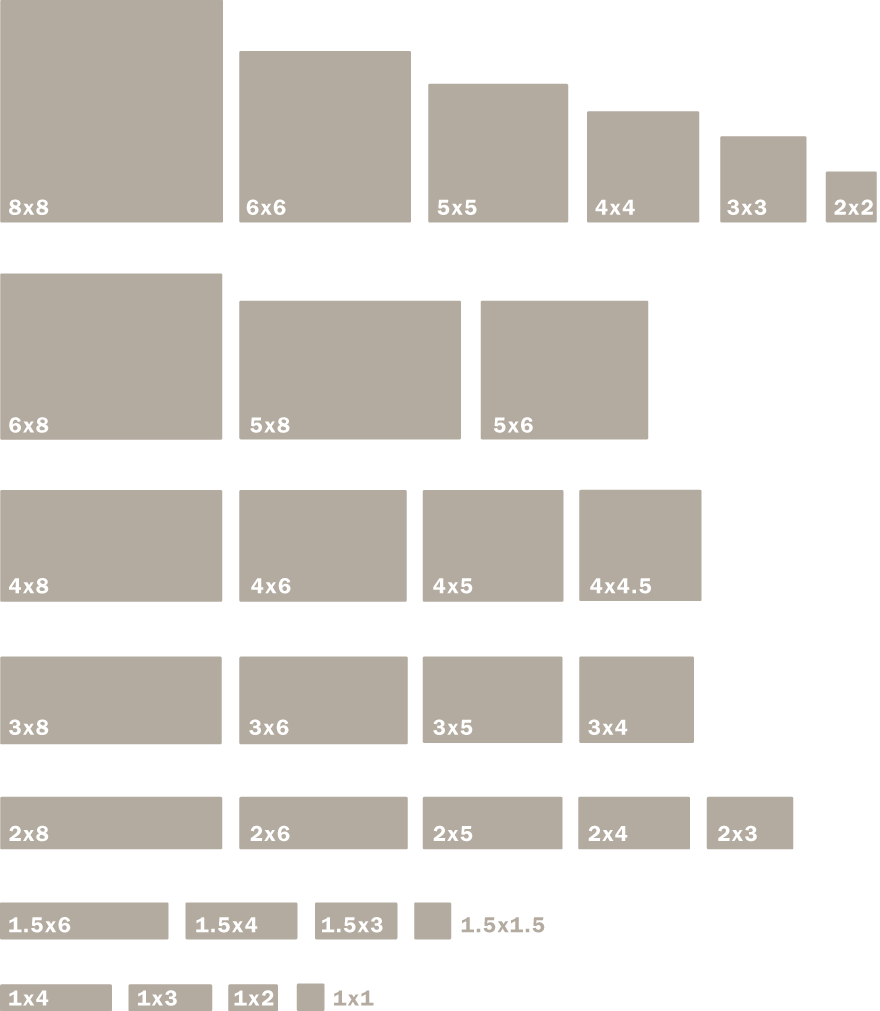 Field Tile Sizes Shapes And Edge Glazing Motawi Tileworks