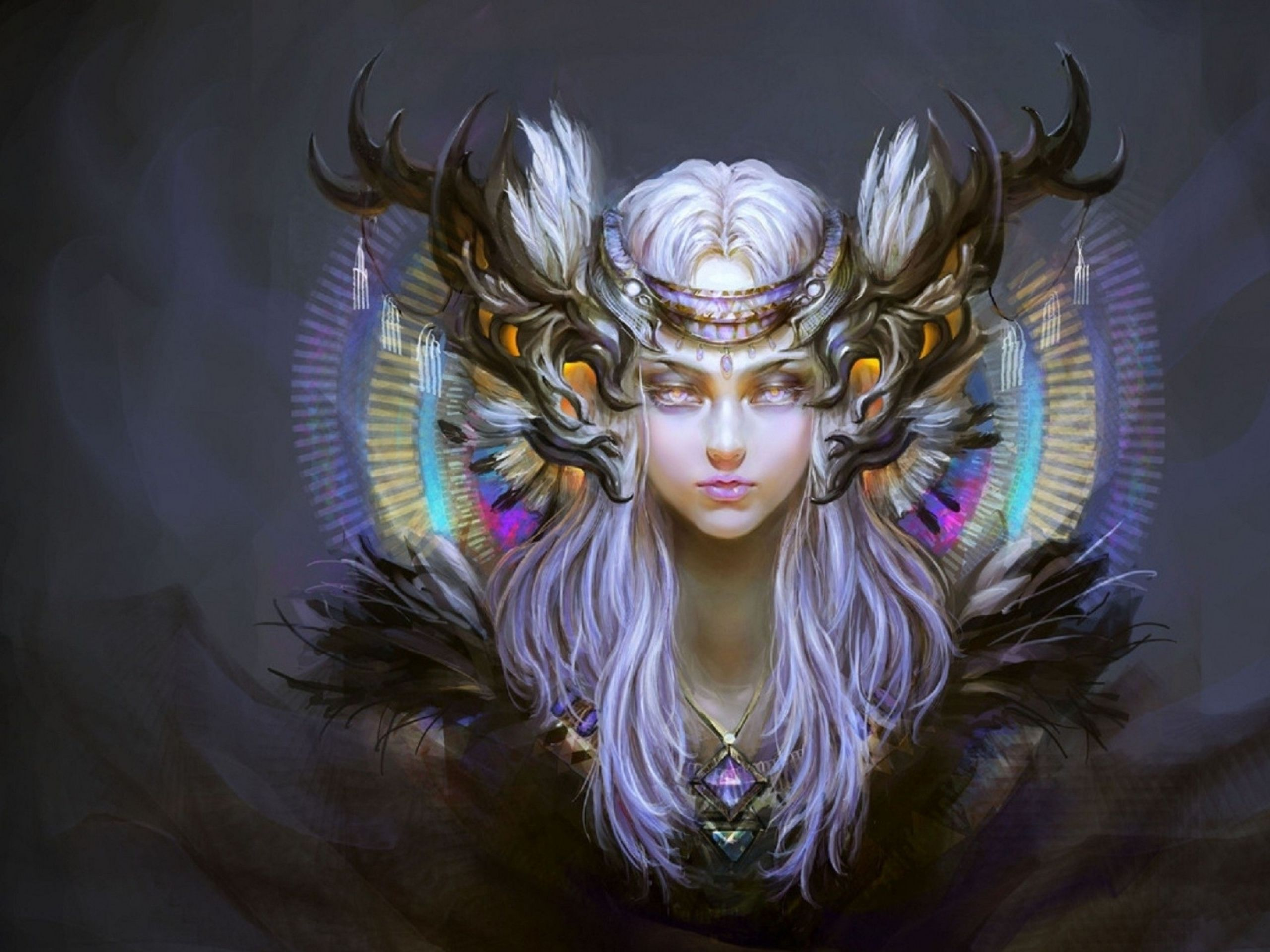 Fantasy art women hartshorn hd wallpapers revieu