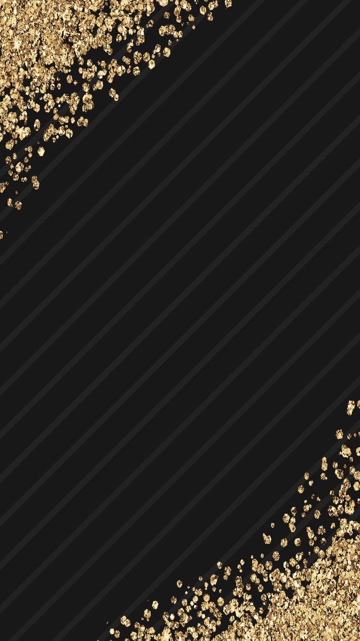 Mzkitty2013 Loubeccabeewalls Black Glitter Wallpapers Black Background Wallpaper Glitter Wallpaper Android Wallpaper Black