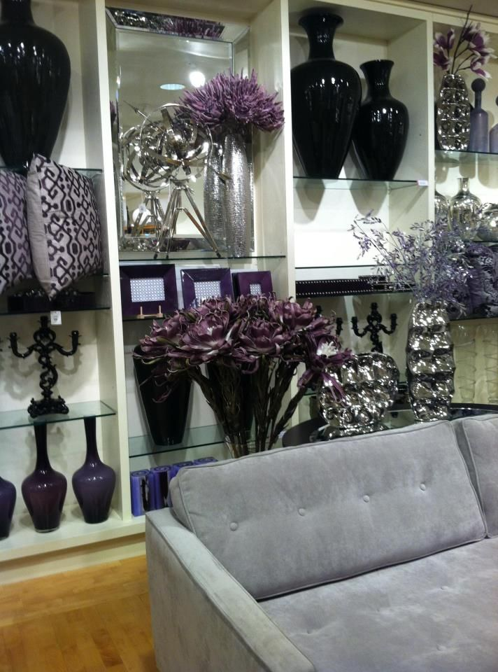 A Visit To Z Gallerie Scottsdale Az Silver Living Room Purple Living Room Black And Silver Living Room #white #and #silver #living #room #ideas