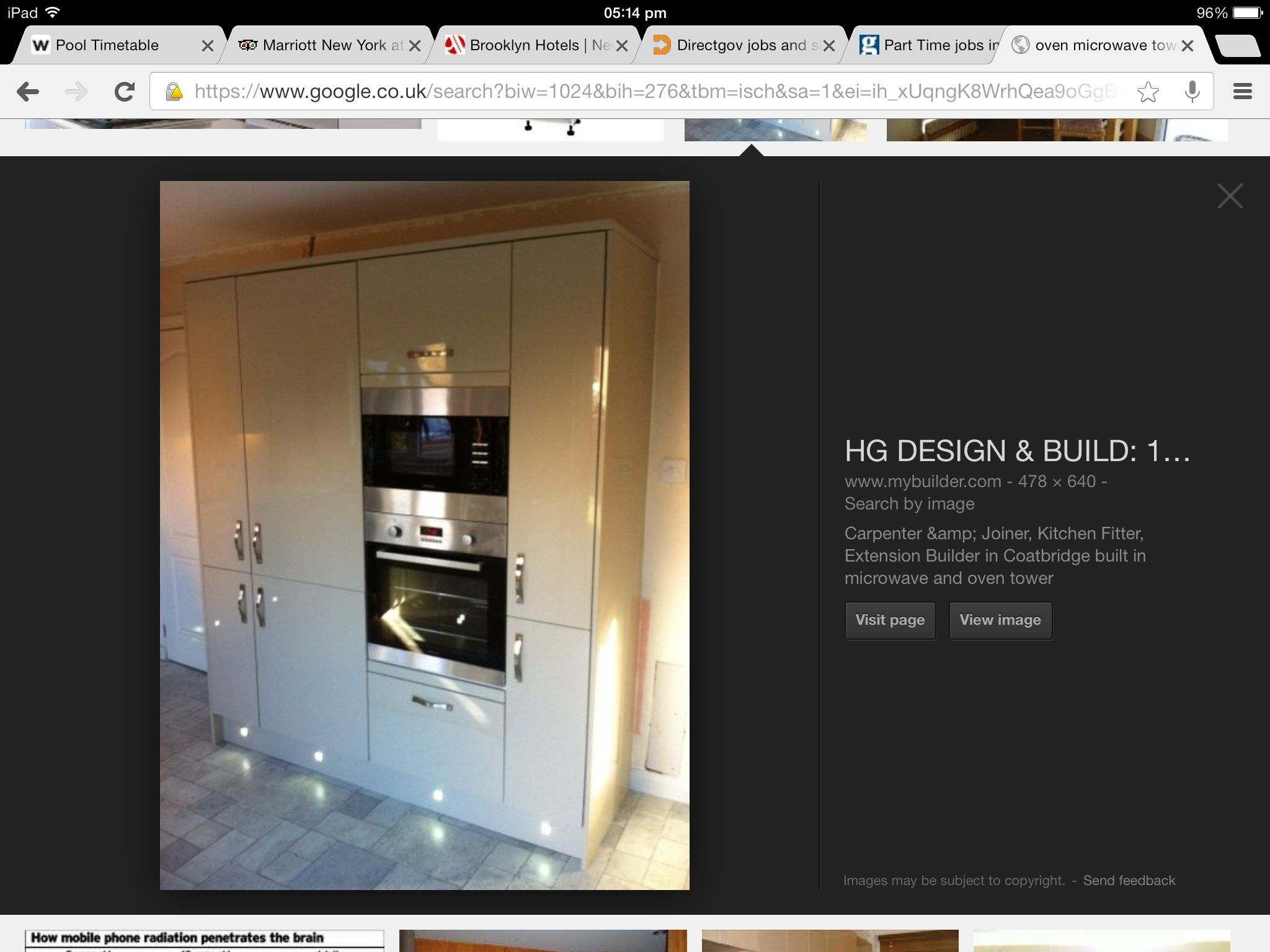 Oven Microwave Tower Kitchen Fitters Lighted Bathroom Mirror Building Design