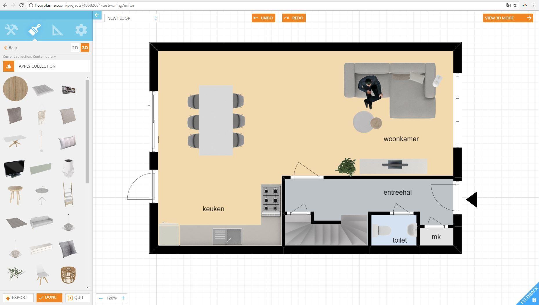 FloorPlanner Tutorial 3 Tutorial, Floor plans, My