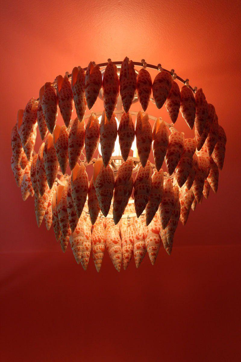 A Look Inside the Home of Lighting Designer Marjorie Skouras--shell light II