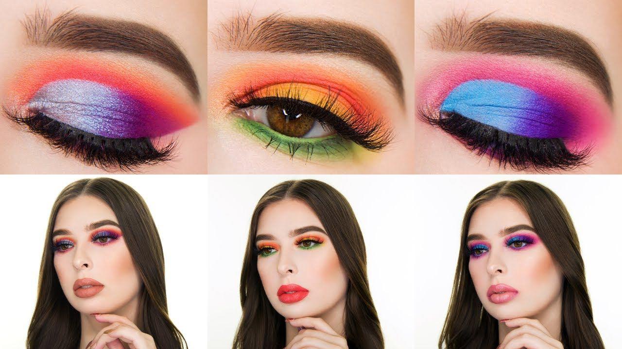 3 Looks 1 Palette | Rimmel JEWEL ROCKS Eyeshadow Palette
