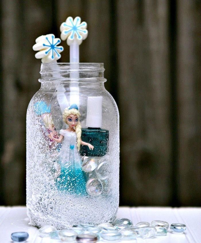 Elsa Frozen Gift Idea For Girls Of All Ages Petticoat Junktion Mason Jar Gifts Jar Gifts Mason Jar Gifts Diy