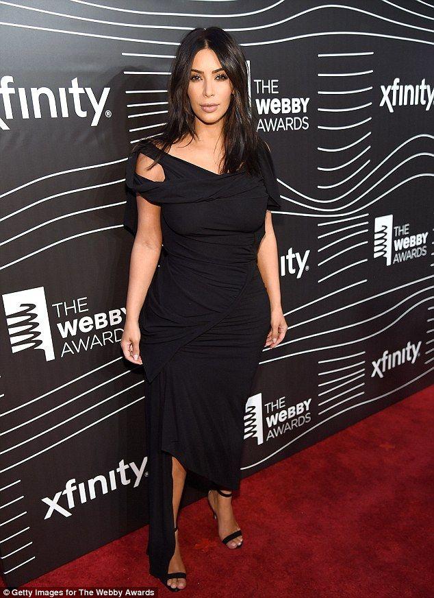 Kim Kardashian Honoured For Breaking The Internet At Webby Awards