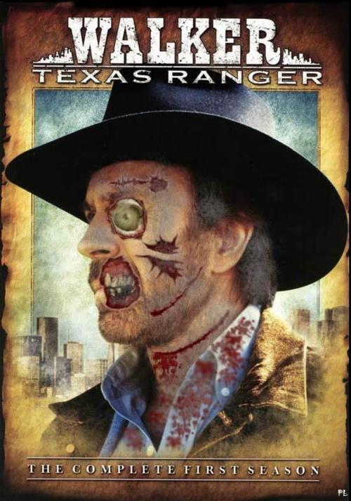 Walker Texas Ranger. Chuck Norris zombie!