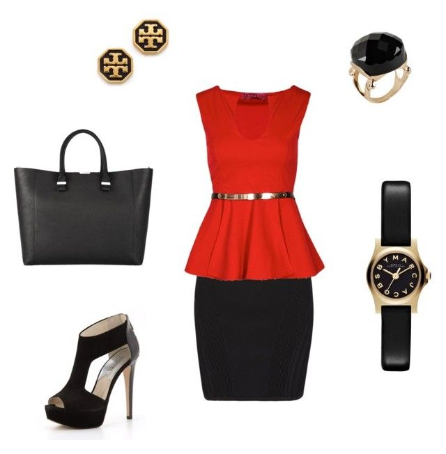 Untitled #12 by jaskew11 on Polyvore featuring polyvore, fashion, style, Boohoo, AllSaints, MICHAEL Michael Kors, Victoria Beckham, Marc by Marc Jacobs, Tory Burch, ALDO and clothing