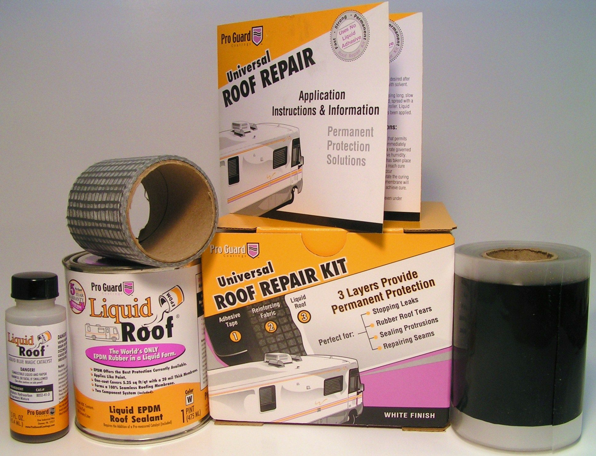 a liquid epdm coating universal rv roof repair kit rv repair