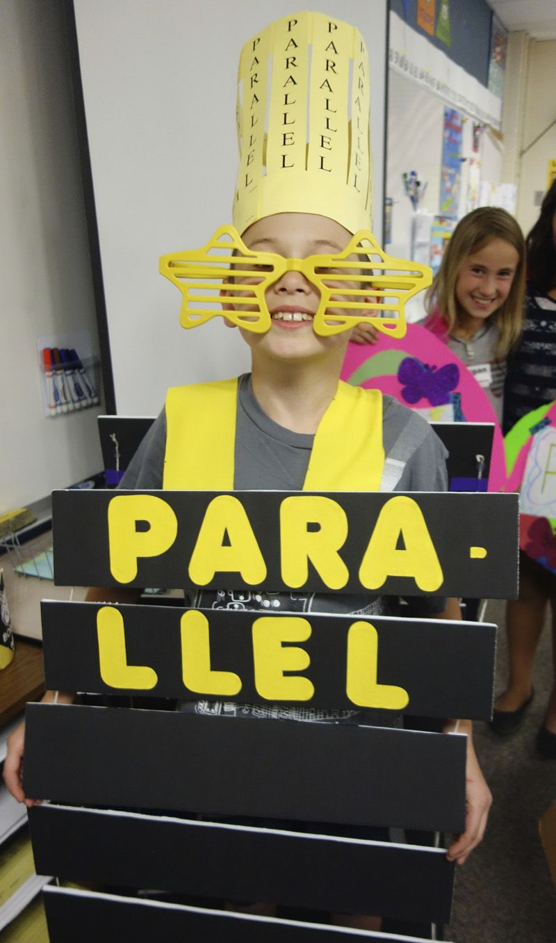 Parallel Is The Word For This Vocabulary Parade Costume