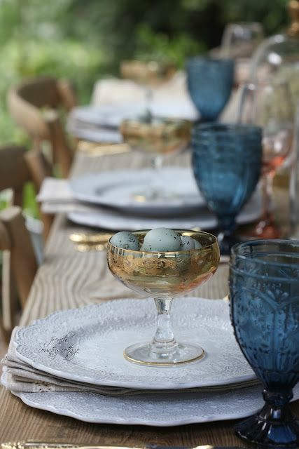 5 ideas for a beautiful Easter table (FRENCH COUNTRY COTTAGE ...