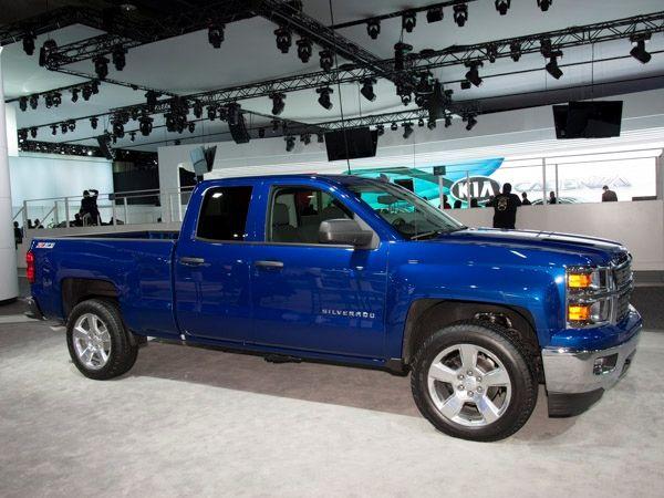 royal blue 2014 Chevrolet Silverado truck | Chevrolet 2014 ...