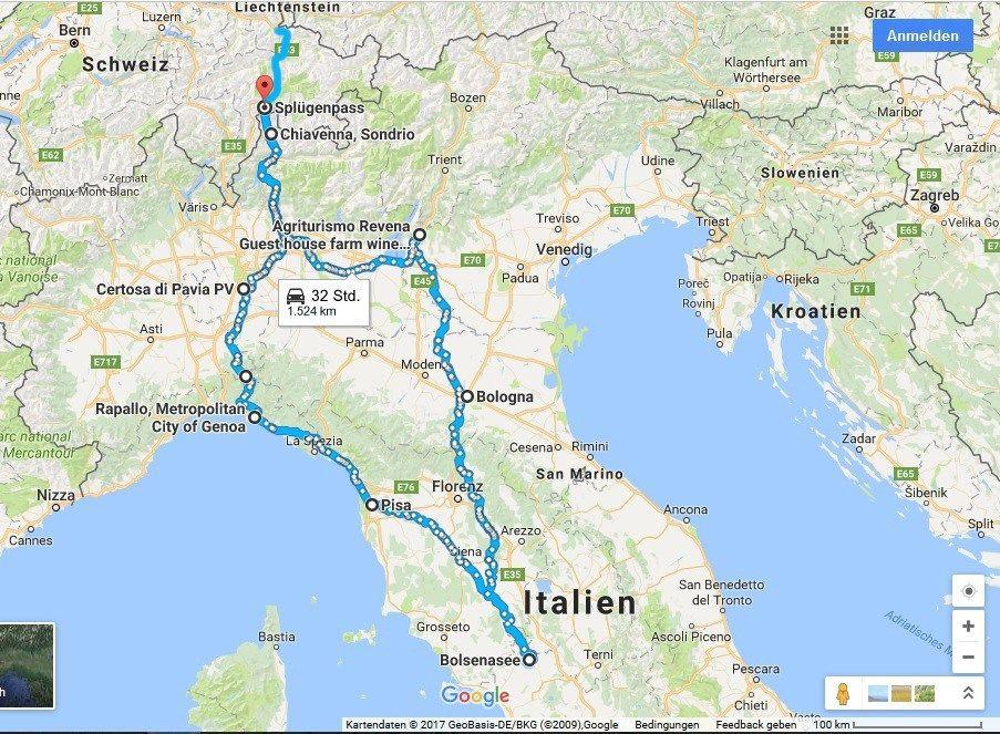 Roadtrip Mit Dem Vw Bus Durch Italien Italien Rundreise