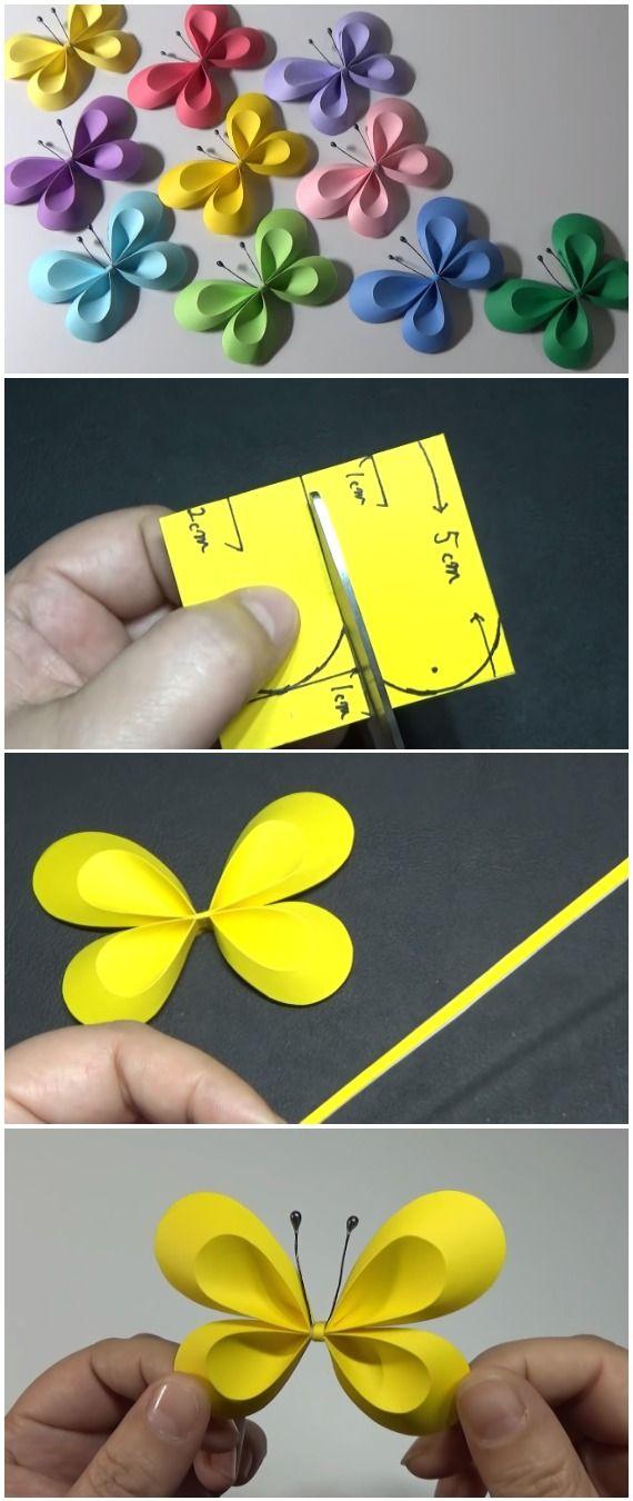 DIY Easy Cute Butterfly