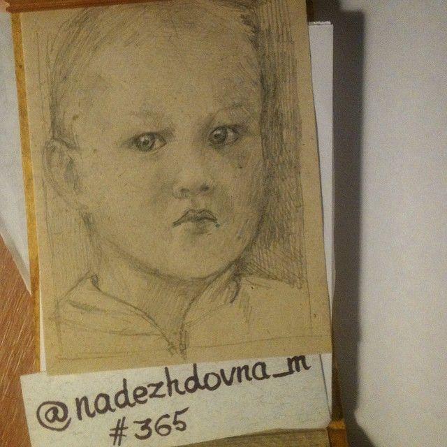 365 365_by_nadezhdovna graphics day5 baby boy sketch sketchbook