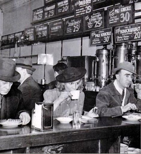1940's diner   1940s   Restaurant-ing through history