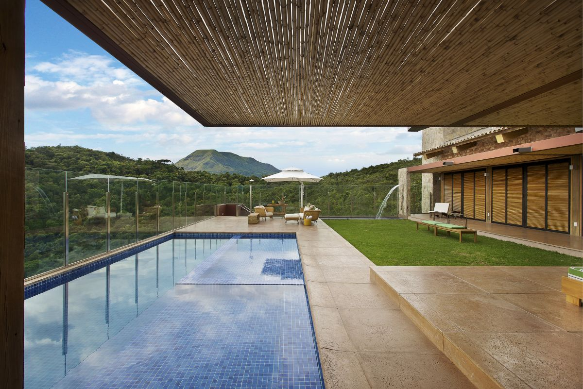 Pool Cool House With Outdoor Swimming Designs Gallery