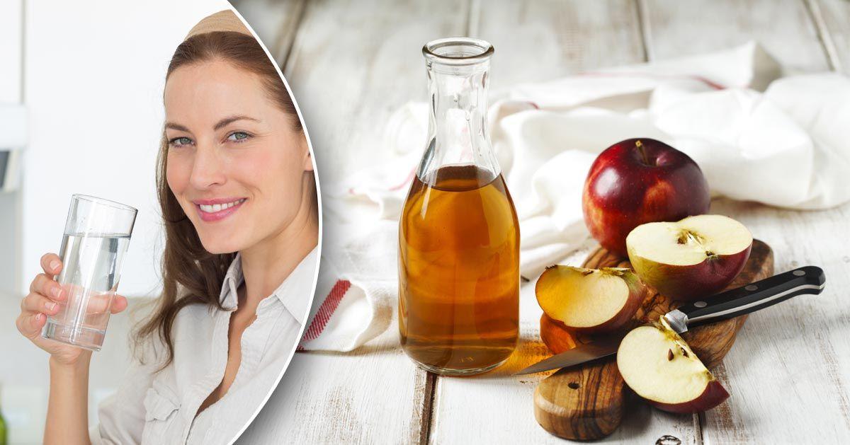 Picie octu jabłkowego pomaga schudnąć? Postanowiłam to sprawdzić!