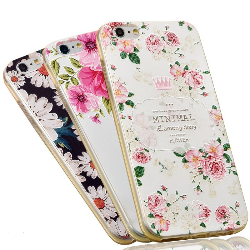 3D Silicone TPU Covers iPhone 7