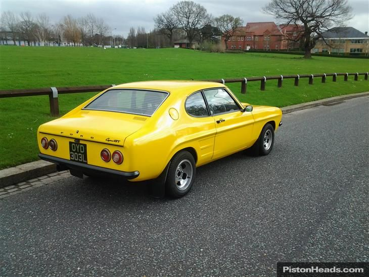 Used FORD CAPRI Resto Mod For Sale Classic Sports Car - Classic car search sites