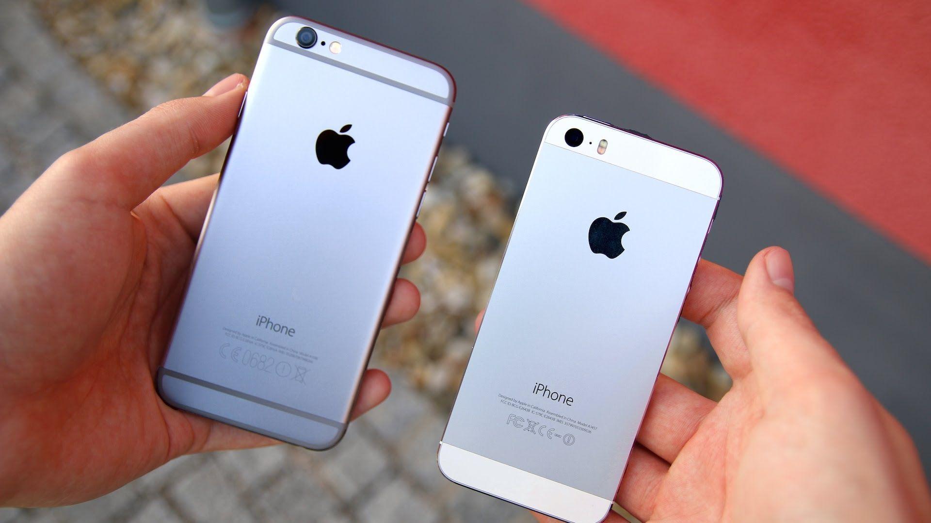 """iphone 6 vs 5s""的图片搜索结果"
