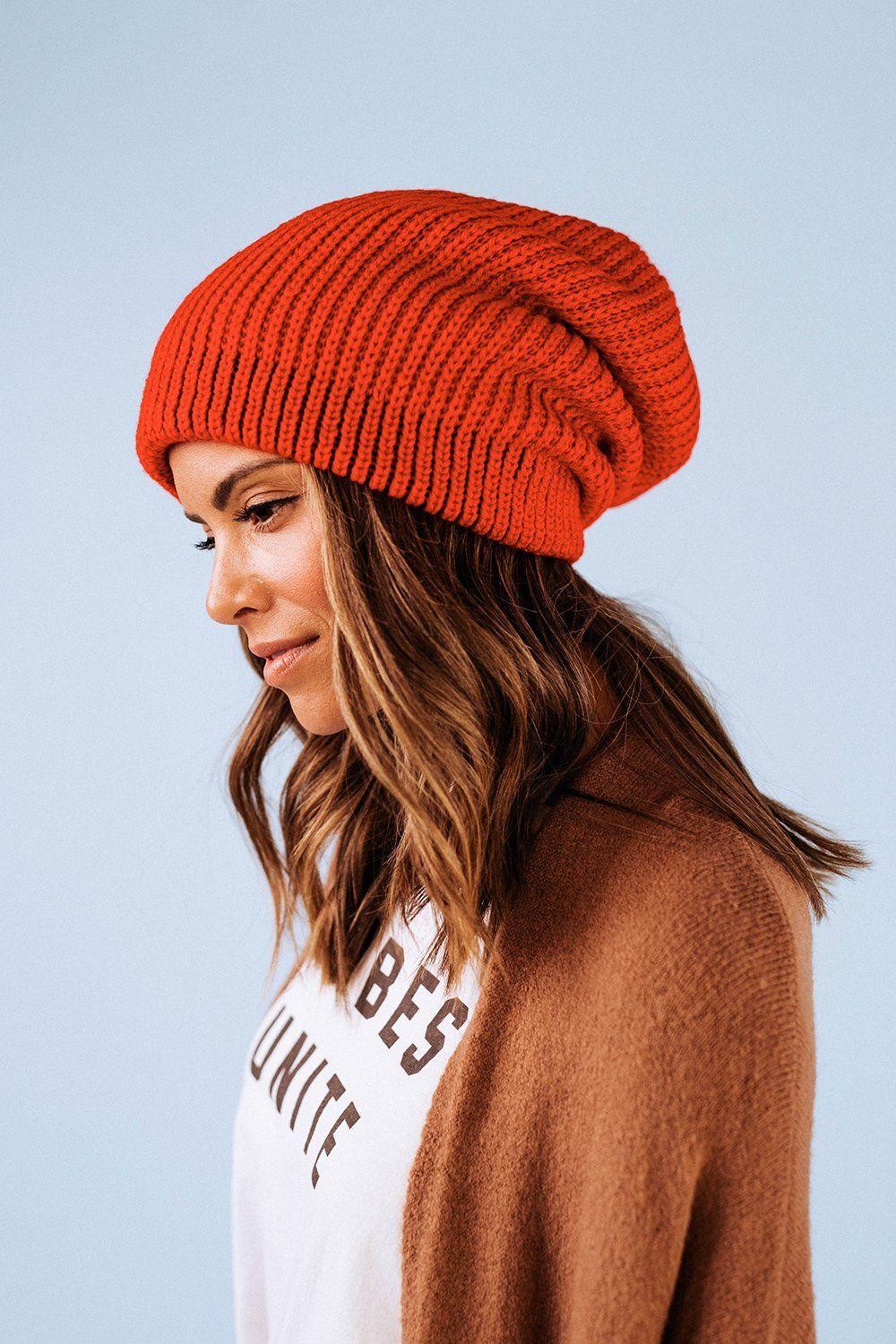 c773858fe7d All Day Every Day Slouchy Beanie in Red
