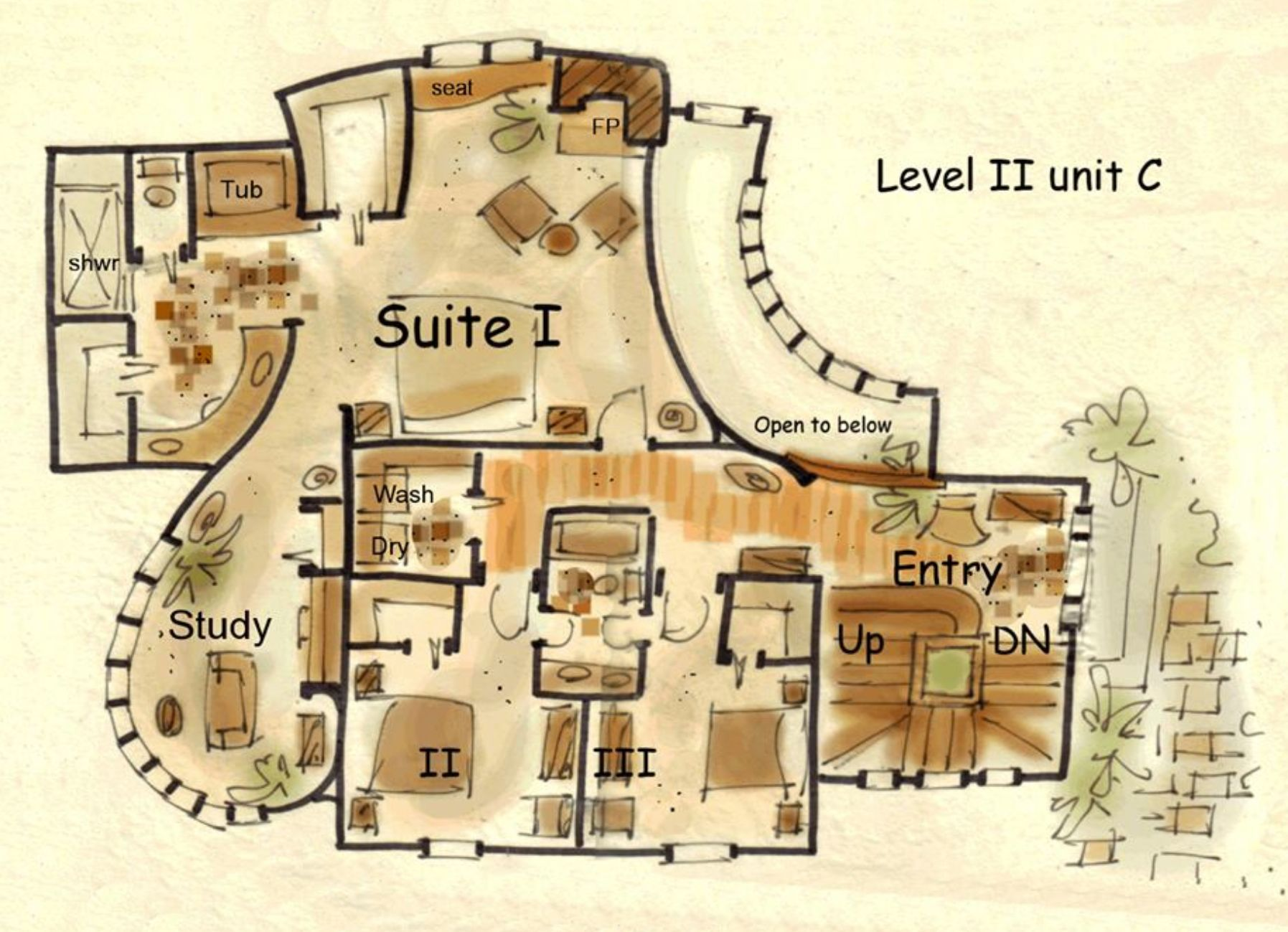 Fairy Tale House Plan Unique House Plans Exclusive Collection Unique House Plans Cob House Plans House Plans