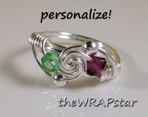 Friendship Ring Wire Wrapped Jewelry | accesorios | Pinterest
