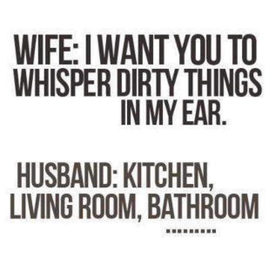 dirty things to whisper in his ear