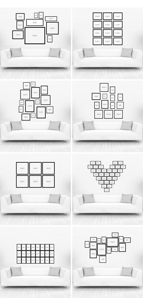Photo of Wandgestaltung Wohnzimmer – 20 kreative Wanddeko Ideen