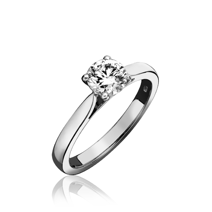 Diamond Ring Solitaire Platinum   C W Sellors Fine Jewellery and Luxury Watches