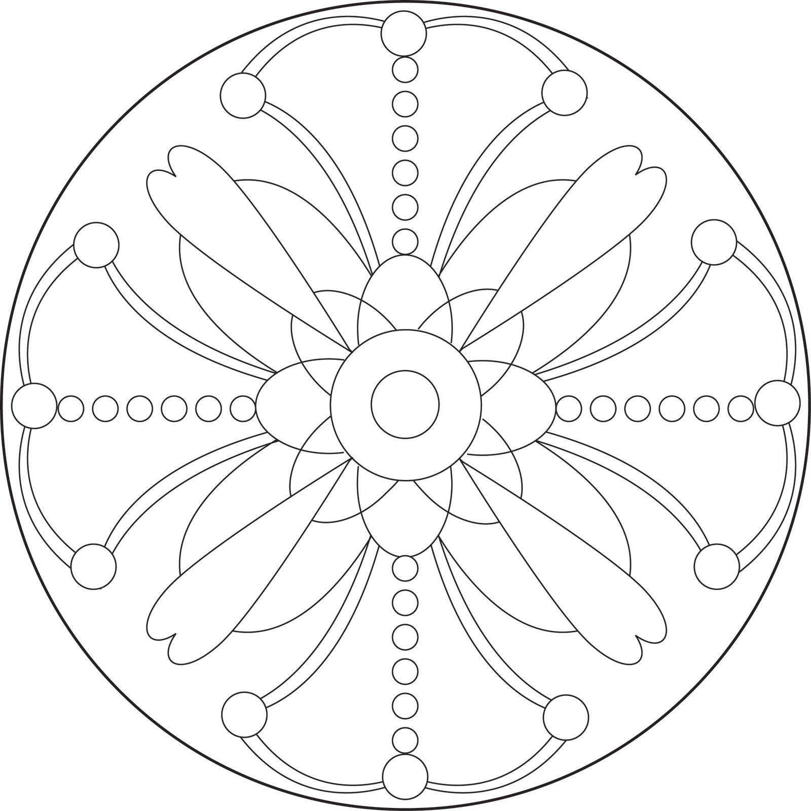 Printable Mandala Patterns
