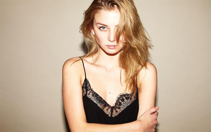 Download wallpapers Julia Wulf, fashion models, beauty, blonde, beautiful girls