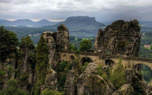 elbsandsteingebirge, Germany