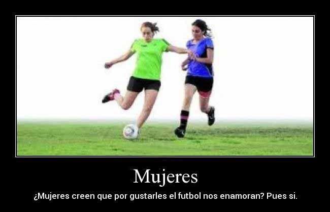 Imagenes De Mujeres Jugando Futbol Con Frases 4