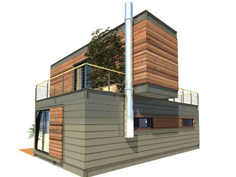 Small architectural - Contenedores para vivir ...