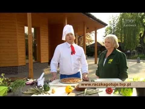 Raczka Gotuje Zupa Szczawiowa Grillowania Karkowka Na Szparagach Marcepanowe Kartofelki Chef Chef Jackets