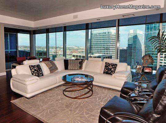 Lhm Washington D C Modern Luxury Condo Luxuryhomes Penthouse Condo Design Decor Luxury Homes Condo Living Luxury Condo