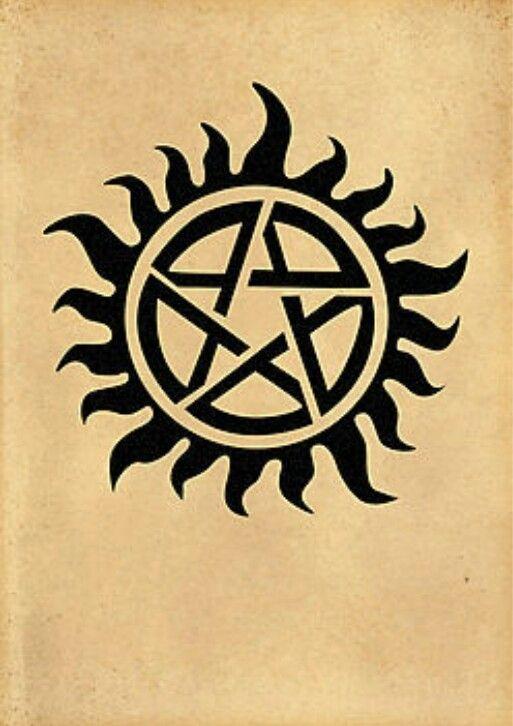 Supernatural Protection Tattoo : supernatural, protection, tattoo, Demonic, Protection, Symbol, Supernatural, Tattoo,, Possession, Friend, Tattoos