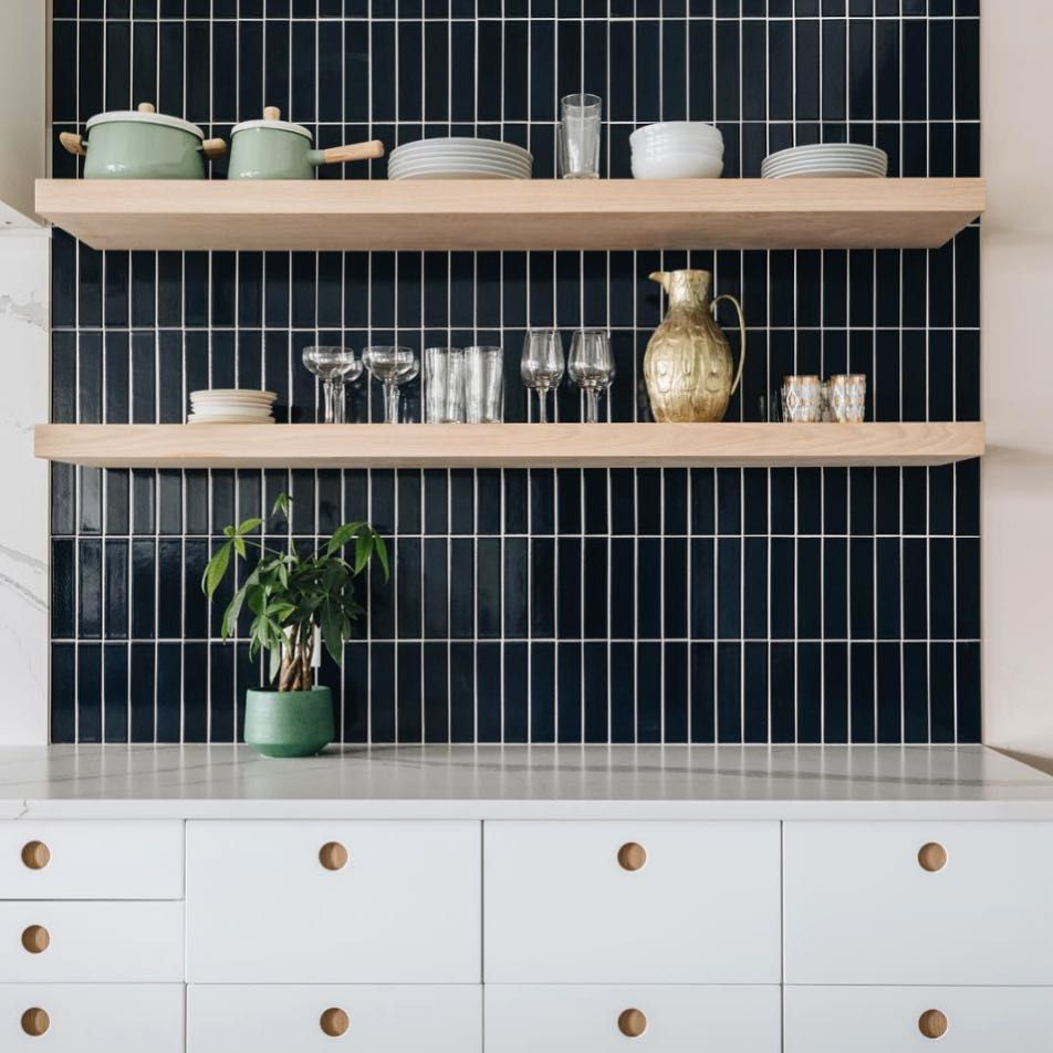 Vertically Stacked Tile Like These 2x8s In Studio125mpls Mimic