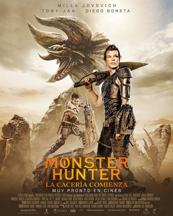 Monster Hunter 2020 Monster Hunter Movie Hunter Movie Monster Hunter