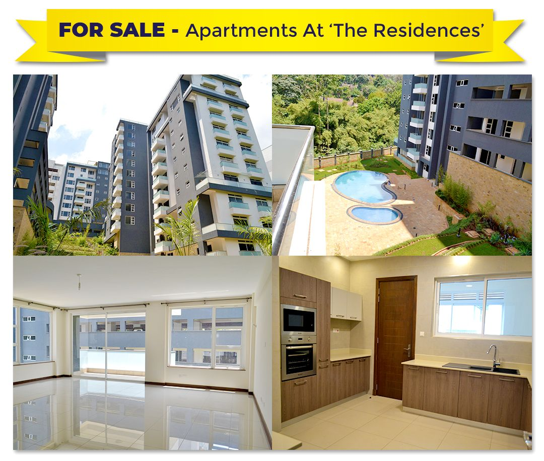 3, 4 & 5 Bed Apartments For Sale In Westlands The