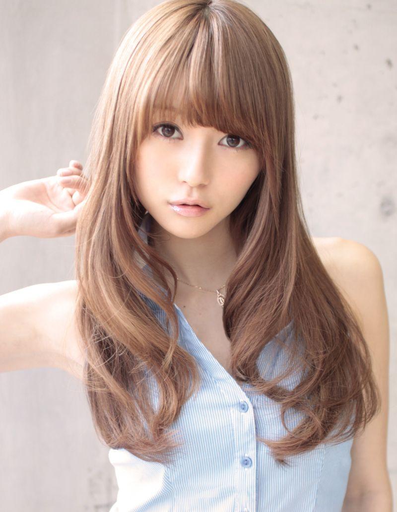 Kawaii hair color pinspiration pinterest sexy long hairstyles